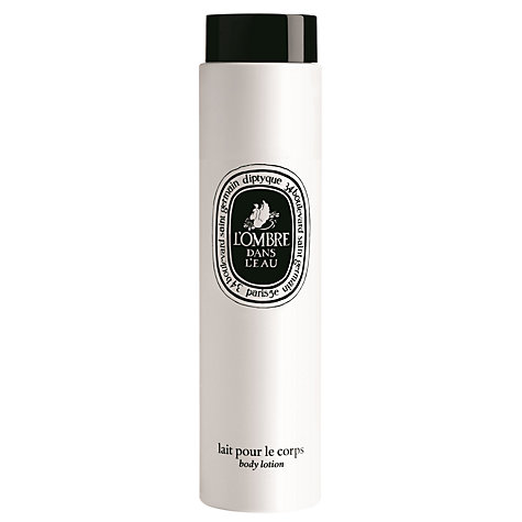 Buy Diptyque L'Ombre Dans L'Eau Body Lotion, 200ml Online at johnlewis.com