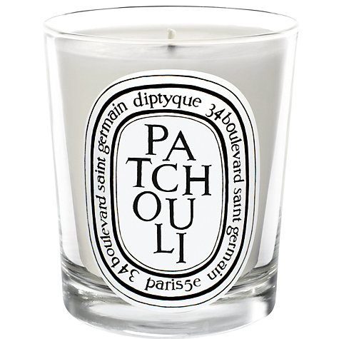 buy diptyque patchouli scented candle 190g john lewis