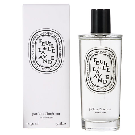 Buy Diptyque Feuille de Lavande Room Spray, 150ml Online at johnlewis.com