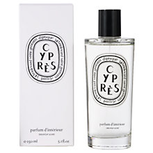 Buy Diptyque Cyprès Room Spray, 150ml Online at johnlewis.com