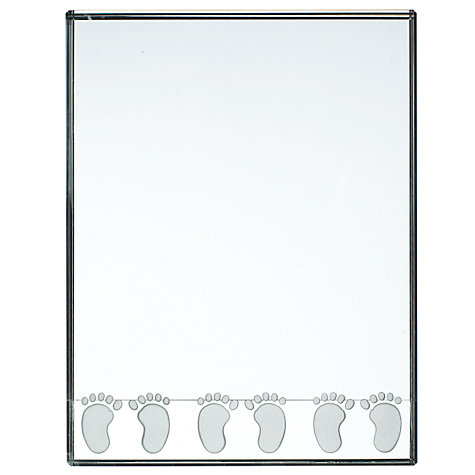 Buy Spaceform Feet Photo Frame, Large Online at johnlewis.com