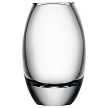 Buy LSA International Verona Barrel Vase, Clear, H17cm Online at johnlewis.com