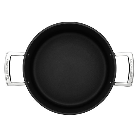 Buy Le Creuset Toughened Non-Stick Casserole, 24cm Online at johnlewis.com