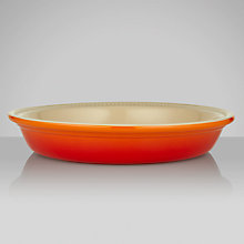 Buy Le Creuset Stoneware Pie Dish, 24cm Online at johnlewis.com