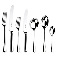 Buy Arthur Price Old English Place Setting, 7-Piece, Stainless Steel Online at johnlewis.com