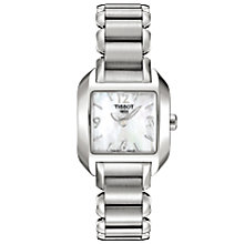 Buy Tissot T02128582 Men's T-Wave Bracelet Watch, Silver Online at johnlewis.com
