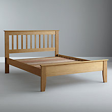Buy John Lewis Chester Oak Bedstead, Kingsize Online at johnlewis.com