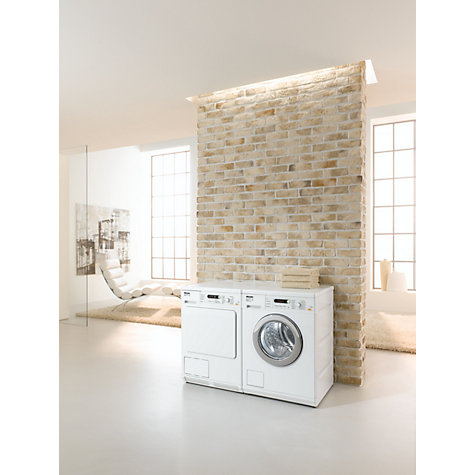 Buy Miele T8822C Condenser Tumble Dryer, 7kg Load, B Energy Rating, White Online at johnlewis.com
