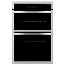 Buy John Lewis JLBIDO913 Double Electric Oven, Stainless Steel Online at johnlewis.com