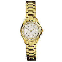 Buy Guess I11068L1 Mini Rock Candy Gold Plated Women's Watch Online at johnlewis.com
