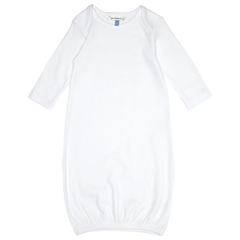 Buy John Lewis Baby Bundler, White, One Size Online at johnlewis.com