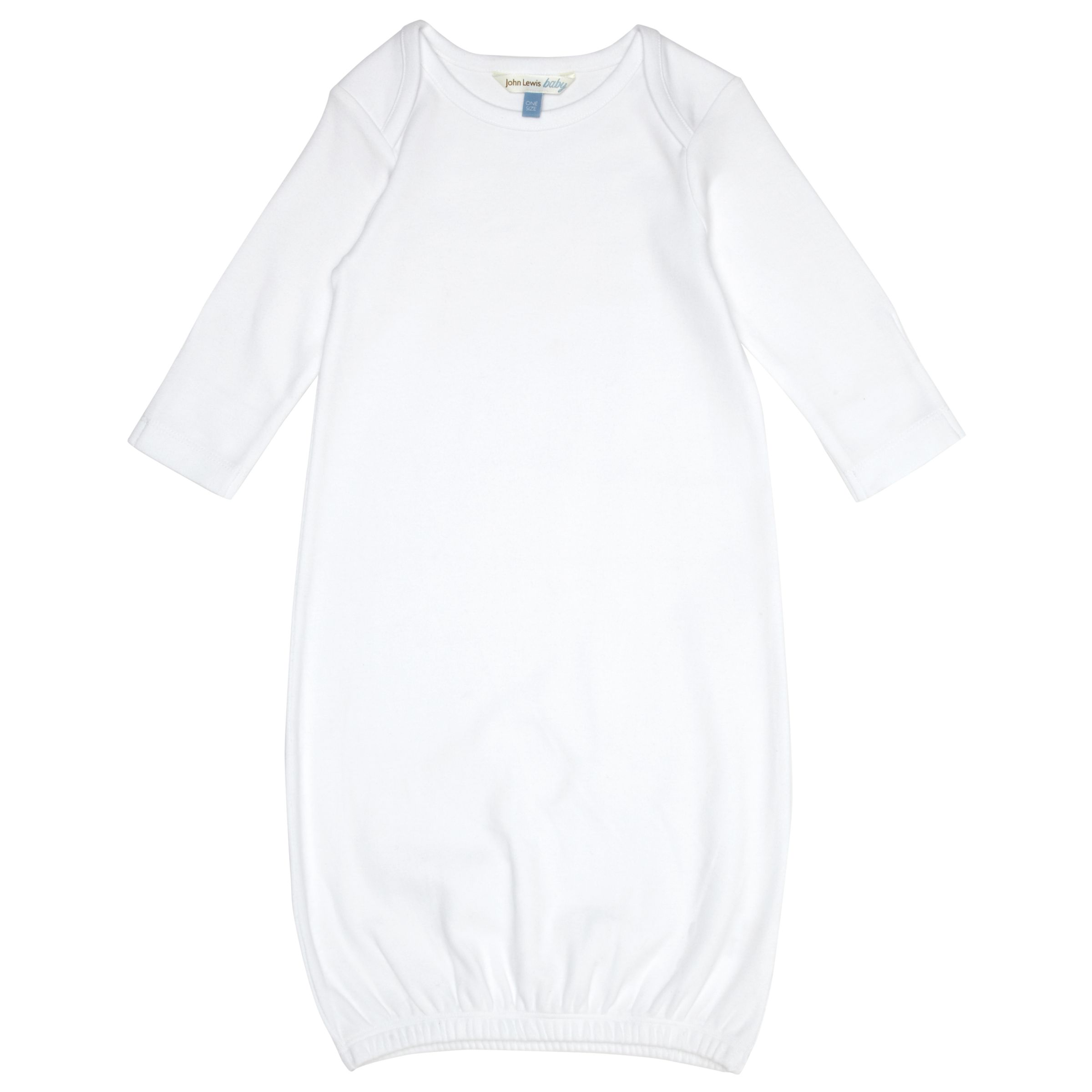 John Lewis Baby Bundler, White, One Size 230591844