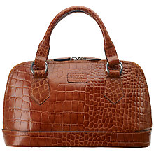 Buy OSPREY LONDON The E/W Ladybug Mock Croc Leather Grab Bag Online at johnlewis.com