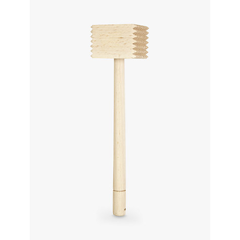 Buy John Lewis The Basics Wooden Meat Tenderiser, FSC-certified (Beech) Online at johnlewis.com