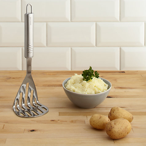 Buy John Lewis Stainless Steel Masher Online at johnlewis.com