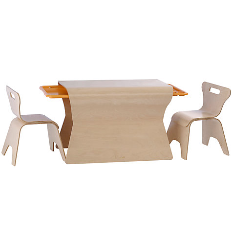 Buy bloom Otto Table and Chairs Set, Natural Online at johnlewis.com