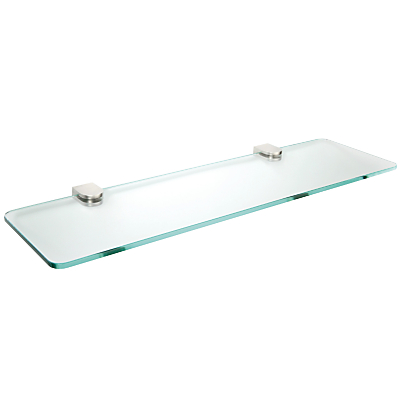 John Lewis Satin Glass Shelf