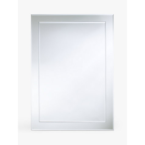Buy john lewis duo wall bathroom mirror 70 x 50cm john for Mirror 50 x 70
