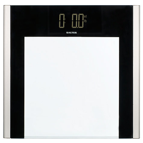 Buy Salter 9050 Reverse Electronic Bathroom Scale, Glass Online at johnlewis.com
