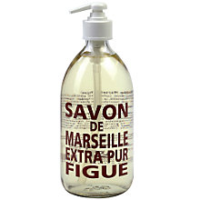 Buy La Compagnie de Provence Fig Liquid Soap, 500ml Online at johnlewis.com