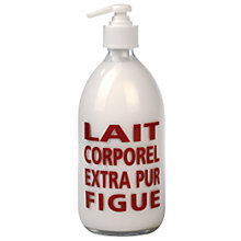 Buy La Compagnie de Provence Fig Body Milk, 300ml Online at johnlewis.com