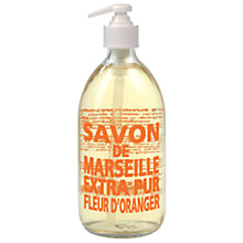 Buy La Compagnie De Provence Orange Blossom Liquid Soap, 500ml Online at johnlewis.com