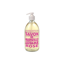 Buy La Compagnie de Provence Wild Rose Liquid Soap, 500ml Online at johnlewis.com