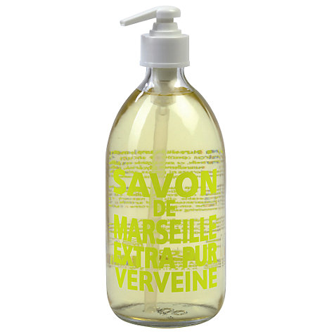 Buy La Compagnie de Provence Fresh Verbena Liquid Soap, 500ml Online at johnlewis.com