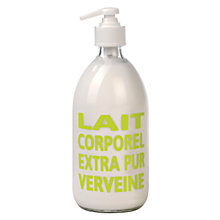 Buy La Compagnie de Provence Fresh Verbena Body Milk, 300ml Online at johnlewis.com