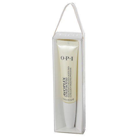 Buy OPI Avoplex Cuticle Oil To Go Replenishing Treatment, 7.5ml Online at johnlewis.com