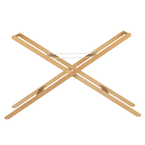 Buy John Lewis Moses Basket Stand, Neutral Online at johnlewis.com