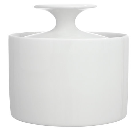 Buy Rosenthal Thomas Medaillon Covered Sugar Bowl, White Online at johnlewis.com