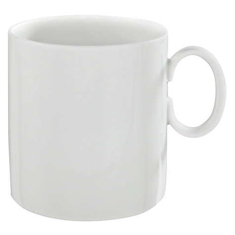 Buy Rosenthal Thomas Medaillon Coffee Cup, White Online at johnlewis.com