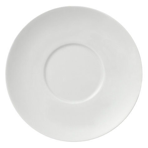 Buy Rosenthal Thomas Medaillon Coffee Saucer, White Online at johnlewis.com