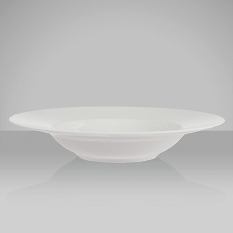 Buy Rosenthal Thomas Medaillon Pasta Bowl, White Online at johnlewis.com