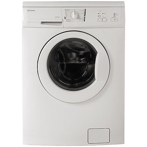 Buy John Lewis JLWM1200 Washing Machine, 6kg Load, A+ Energy Rating, 1200rpm Spin, White Online at johnlewis.com
