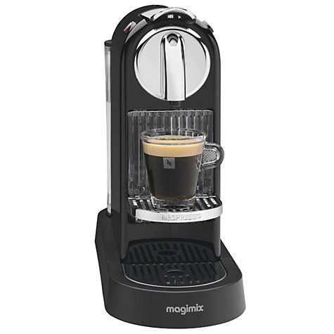 Buy Nespresso M190 CitiZ Automatic Coffee Machine by Magimix, Black Online at johnlewis.com