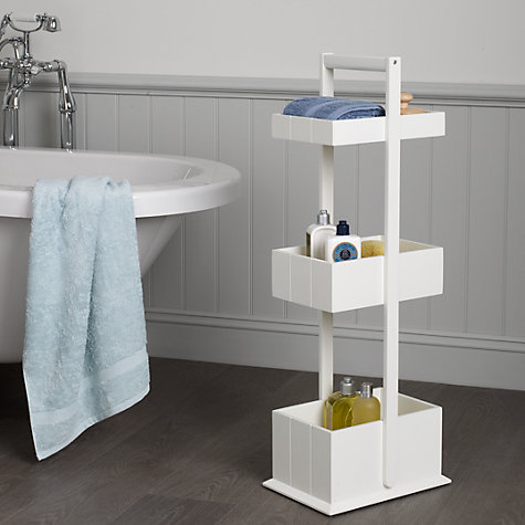 Buy john lewis st ives 3 tier bathroom storage caddy for Bathroom storage ideas john lewis