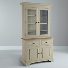 Buy Neptune Chichester Glazed Rack Dresser, Limestone Online at johnlewis.com