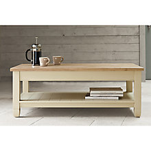 Buy Neptune Chichester Rectangular Coffee Table, Limestone Online at johnlewis.com