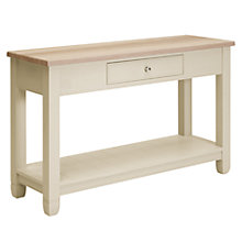 Buy Neptune Chichester Console Table, Limestone Online at johnlewis.com