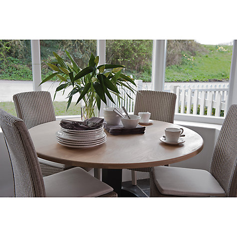 Buy Neptune Chichester 6 Seater Round Dining Table, Limestone Online at johnlewis.com