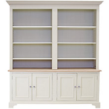 Buy Neptune Chichester 6ft Grand Bookcase, Limestone Online at johnlewis.com