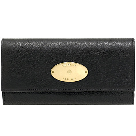 Buy Mulberry Continental Purse Online at johnlewis.com