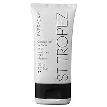 Buy St Tropez Everyday Light/Medium Gradual Tan (Face), 50ml Online at johnlewis.com