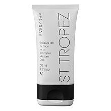 Buy St Tropez Everyday Medium/Dark Gradual Tan (Face), 50ml Online at johnlewis.com