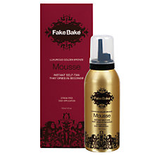 Buy Fake Bake Instant Self-Tan Mousse, 118ml Online at johnlewis.com