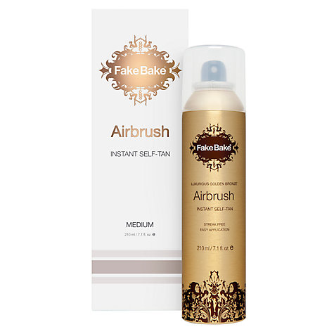 Buy Fake Bake Airbrush Instant Self-Tan, 207ml Online at johnlewis.com