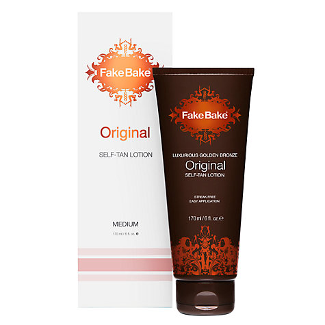 Buy Fake Bake Original Self-Tan Lotion, 170ml Online at johnlewis.com