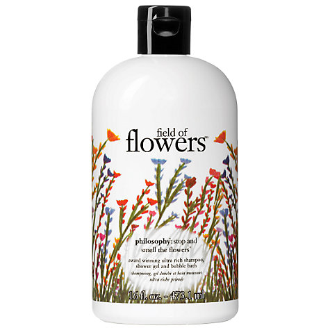 Buy Philosophy Field of Flowers 3-in-1 Shower Gel, 480ml Online at johnlewis.com